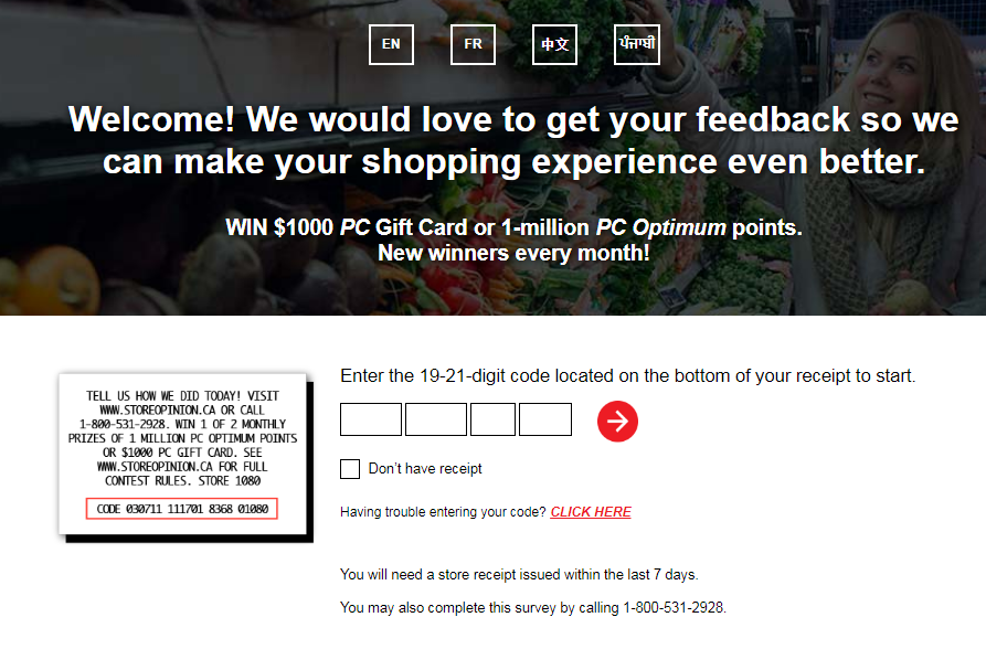 Loblaw Store Opinion Contest