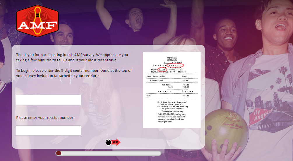 AMF Bowling Centers Customer Satisfaction Survey 2020