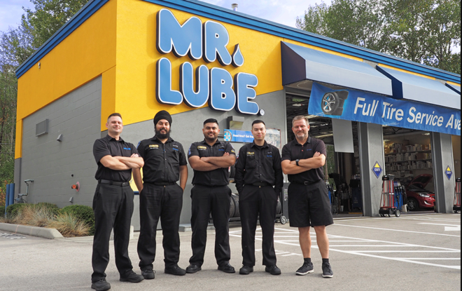 Tell Mr.Lube Guest Satisfaction Survey